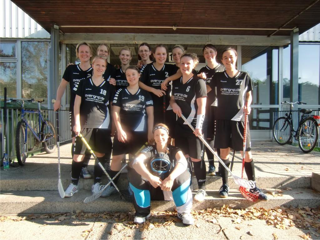 SG Berlin am ersten Spieltag Floorball Deutschland Cup Ost